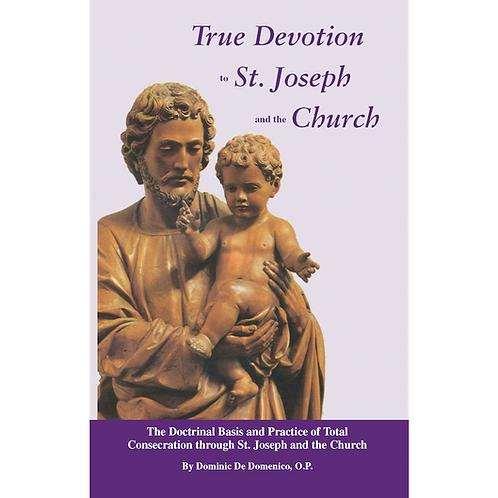 B3071  True Devotion to St. Joseph & Church (Book)