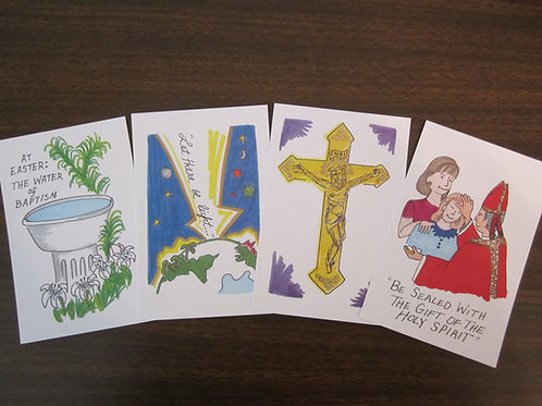 Know Your Catholic Faith Teaching Cards