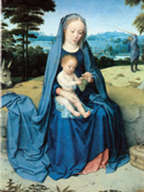 B2101 BLANK Rest on the Flight Into Egypt Blank Note Card