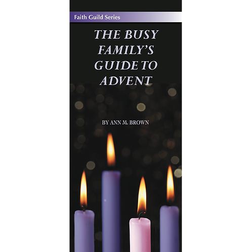 4020 The Busy Family's Guide to Advent (Pamphlet)
