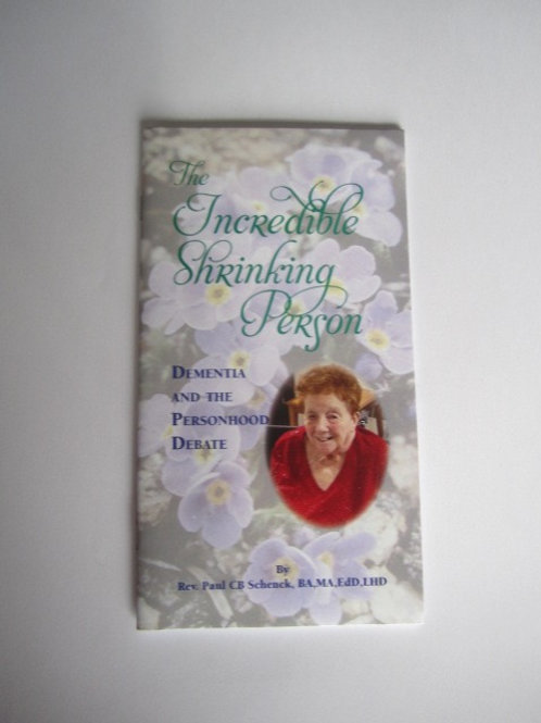 The Incredible Shrinking Person (Booklet) #B0141