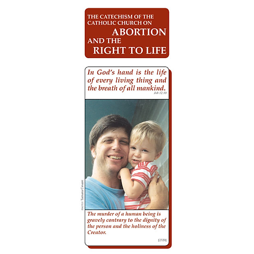 Abortion and the Right to Life (Pamphlet)