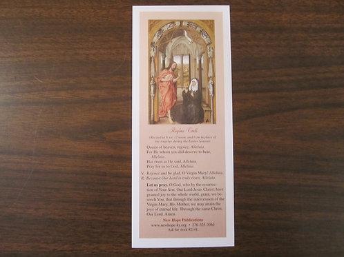 2141 Regina Coeli Bookmark