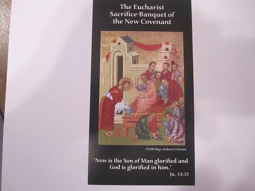 2142 The Footwashing Icon Prayer Card