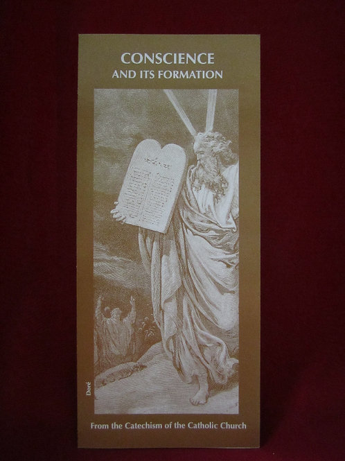 #1240 Conscience and Its Formation (Pamphlet)