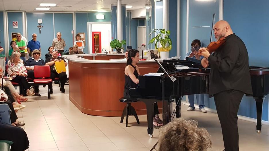 DONATORI DI MUSICA IN OSPEDALE