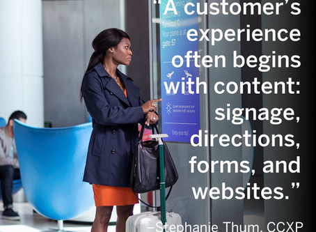 Want to improve customer experience? Start with content!