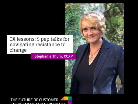 CX lessons: 5 pep talks for navigating resistance to change