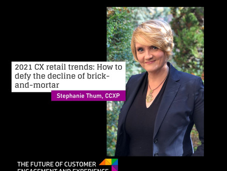 2021 CX Retail Trends: How to Defy the Dizzying Decline of Brick-and-Mortar
