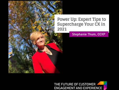 Power Up: Expert Tips to Supercharge Your CX in 2021