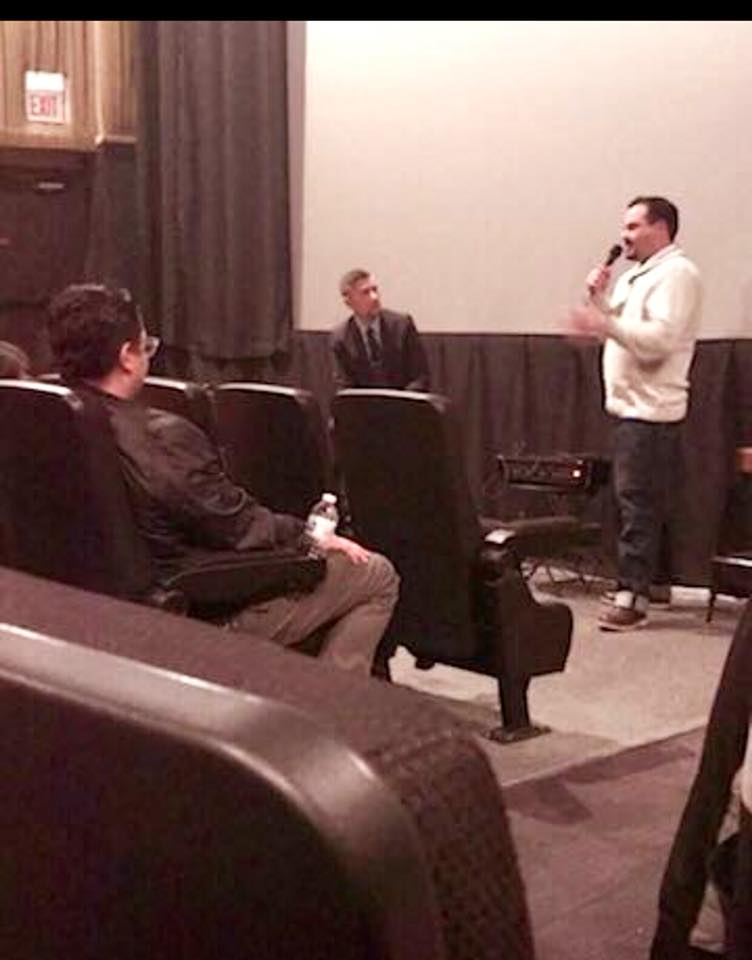 Kamen Speaking at Movie Premier