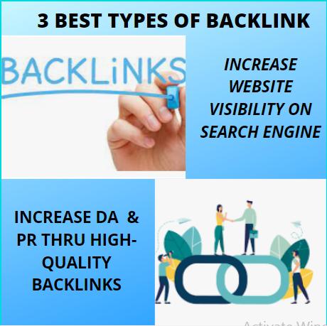 3 Best Types of Backlinks