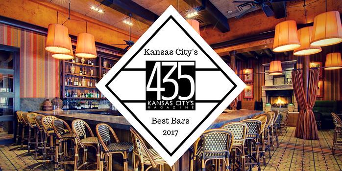 Trezo Mare wins Best Bars category, 435 Kansas City's Magazine