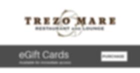 Trezo Mare gift cards