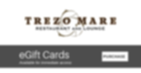 Trezo Mare gift cards