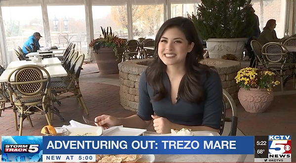 KCTV5 features Trezo's new enclosed patio