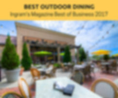 Trezo Mare wins Best Outdoor Dining Kansas City