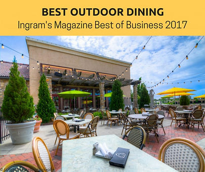 Trezo Mare wins Best Outdoor Dining Kansas City