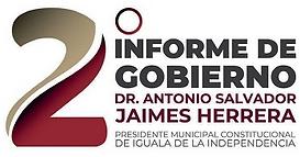 Logo 2do Informe de Gobierno TJH (2020).