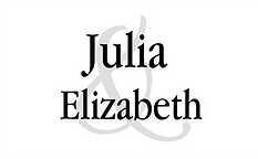 Julia & Elizabeth Seating