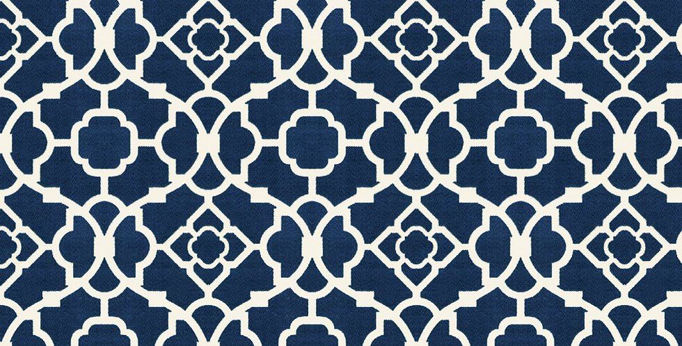 Grade A: Lattice Blue