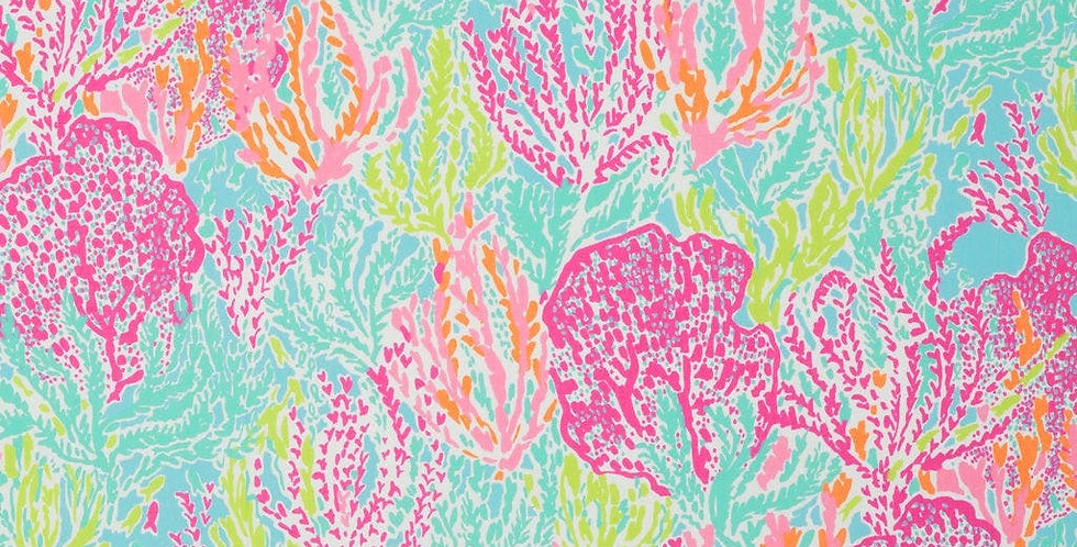 Grade E: Lilly Pulitzer Let'S Cha Cha - Tiki/Shorely