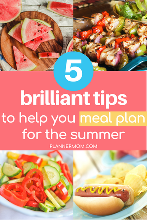 5 Ways to Make Summer Meal Planning a Breeze