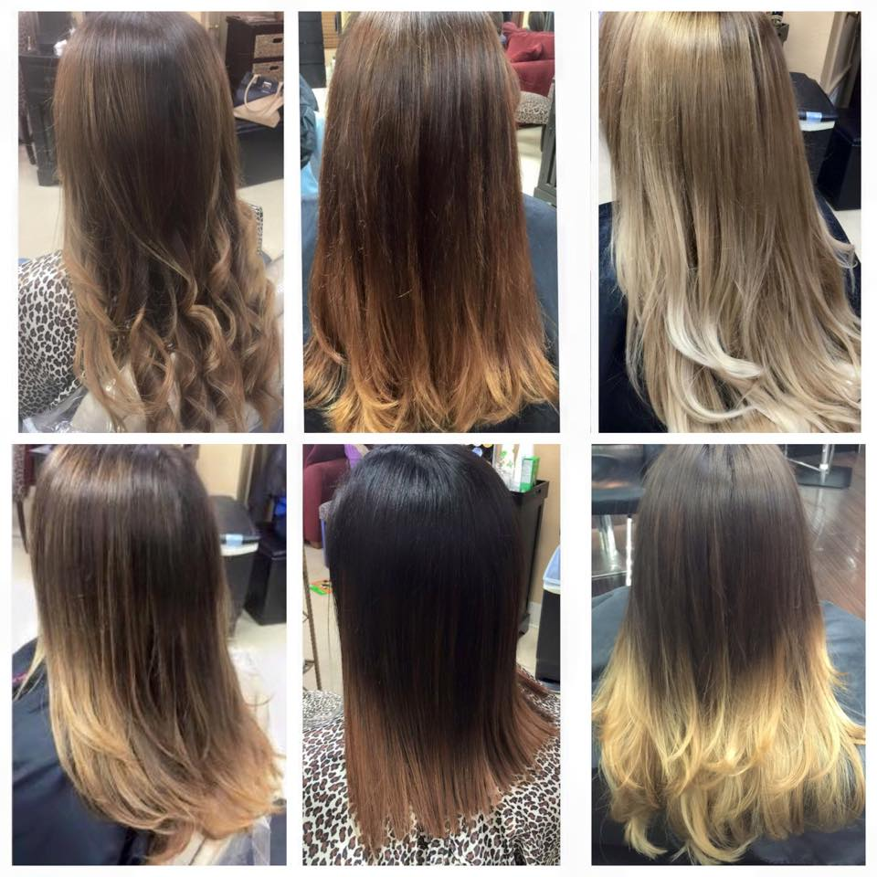 Various Ombre Styles