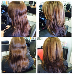 highlights and healthy cut