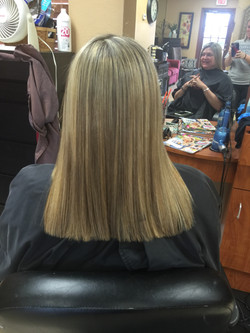 Highlights and Brazillian Blowout