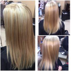 Golden blonde