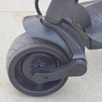 Wide Wheel Front and rear 500W motors.