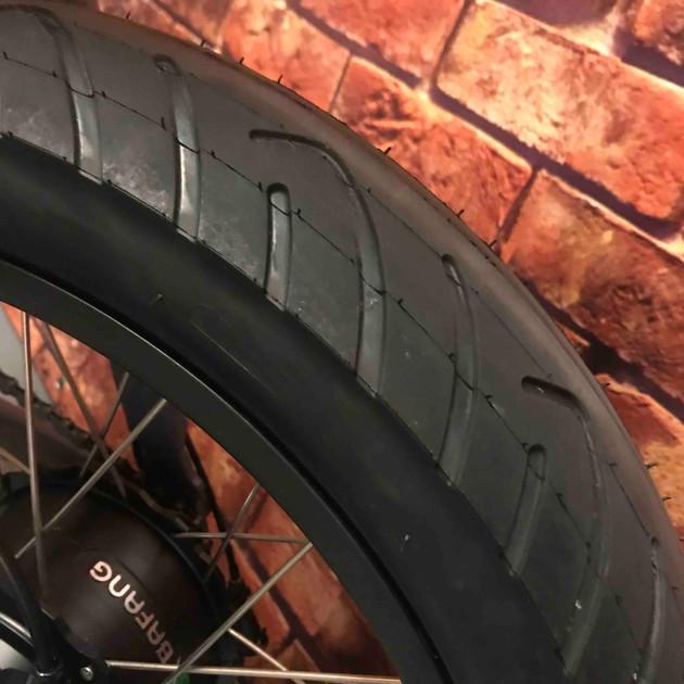 "Choice of 20"" KENDA street or all terrain tyres"