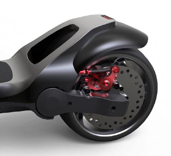 Mercane Wide Wheel Scooter Boostbikes Nz