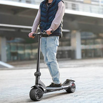 Wide Wheel Comfort, Speed and Power