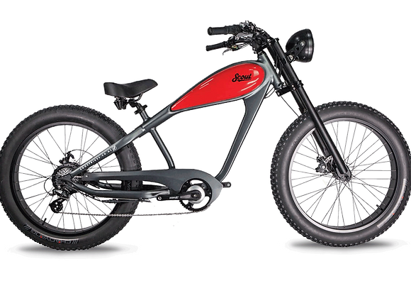 Scout 350 Grey/Red