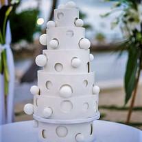 Unique Balls and Holes wedding cake.jpeg