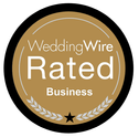 wedding wire rated 5 Star Business