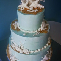 Lt Blue Shimmer Starfish and Shells.jpg