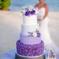Purple Ruffle Wedding Cake.jpg