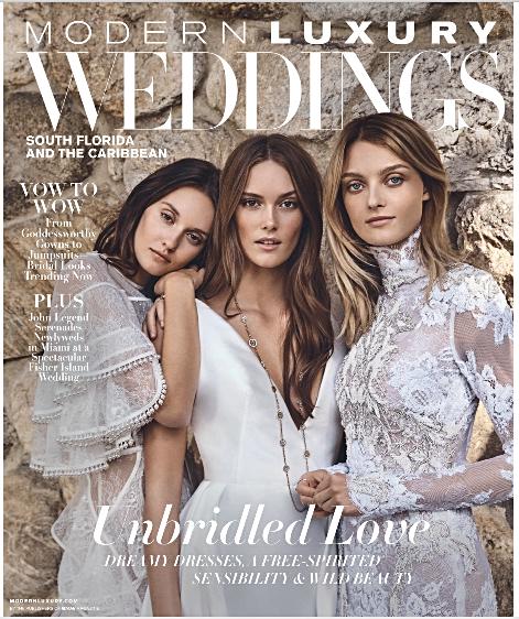 Modern Luxury Weddings Featured Holiday 2018