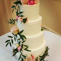 Wave Buttercream Wedding Cake.jpg