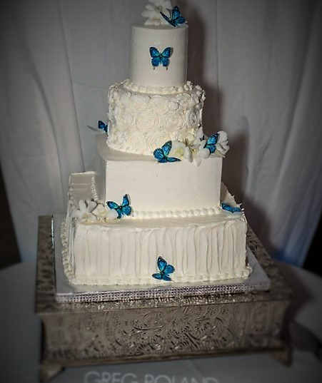 Butterfly 4 tier Wedding Cake.jpeg