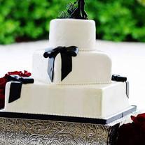 White Black Square wedding cake.jpg