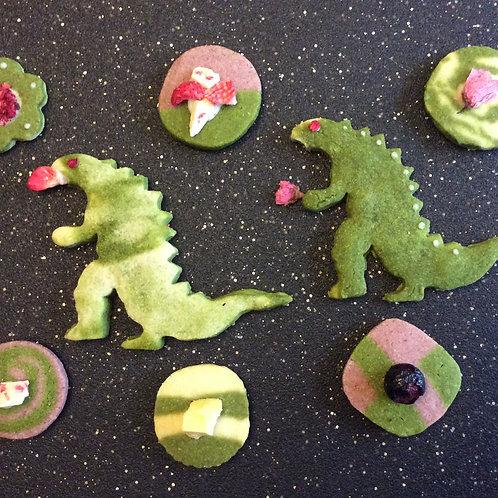 Godzilla Matcha Galaxy Cookies (8 pcs.)