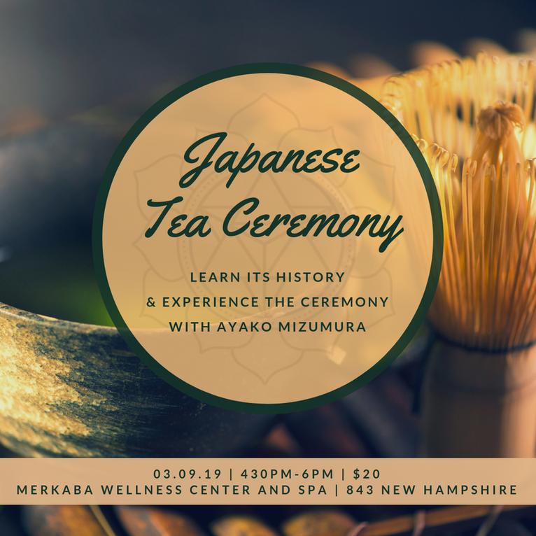 Japanese Tea Ceremony Basics