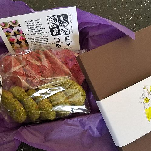 GF Almond Meal Matcha & Beet Cookie (12 pcs.)