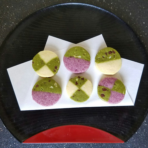 Matcha Cookies  (12 pcs.)