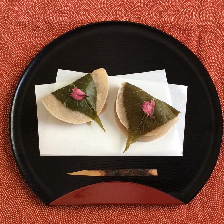 Japanese Sakura (cherry blossom) Mochi