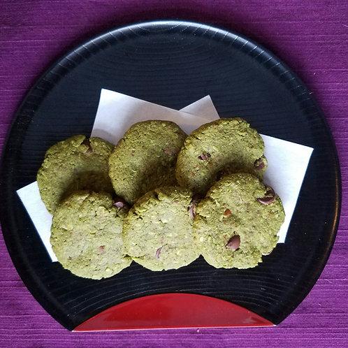 GF Almond Meal Matcha Cookie (6 pcs.)